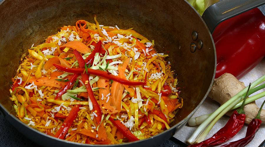 stekt ris thai